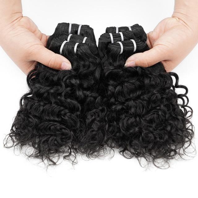 100% Brazilian Human Hair Extension 12