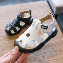Summer 2020 Sandals for Boys Children's Closed Toe Anti-kick
