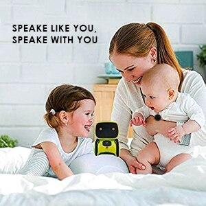 de voz controle toque brinquedos robô interativo