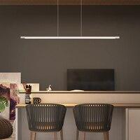 Black/White Led Chandelier For Diningroom Kitchen lustre Modern Chandelier Lighting Fixtures lamparas de techo colgante moderna