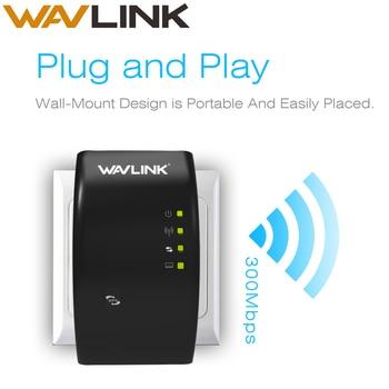 Wavlink Wireless Wi-Fi Repeater 300Mbps WIFI Range Extender wifi Signal Amplifier Booster 802.11n/b/g repetidor wifi WPS TRAVELS