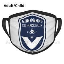 Masque aux Girondins De Bordeaux, écharpe chaude, Football en France
