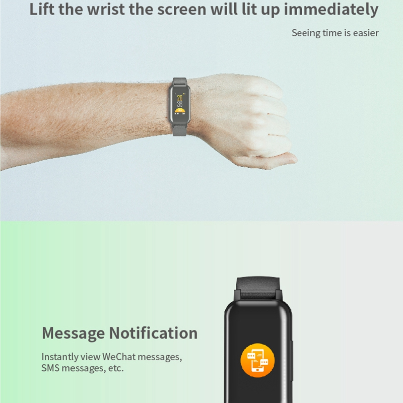 T89 Tws Smart Binaural Bluetooth Headphone Fitness Bracelet Heart Rate Monitor Smart Wristband Sport Watch Men Women Black