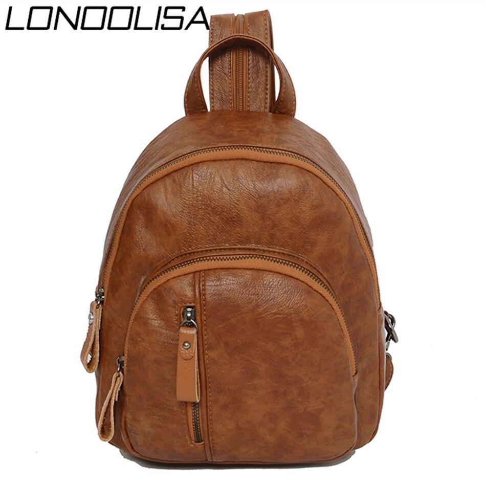 Quality Pu Leather Back Pack Bagpack Women Backpack School Bags For Teenage Girls New Sac A Dos Travel Backpack Mochila Feminina