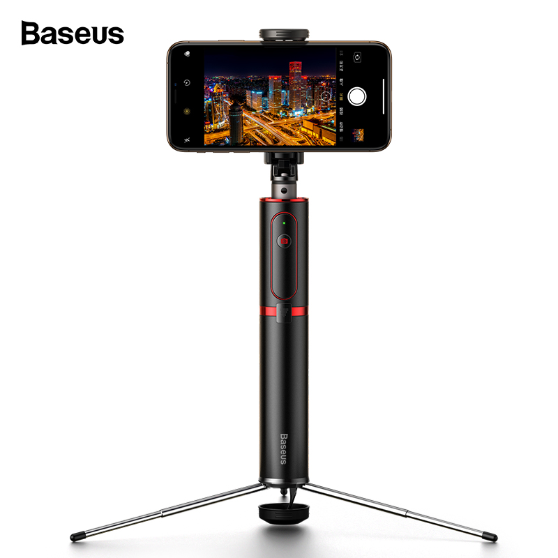 Baseus Bluetooth Selfie Stick Tripod Wireless Self Stick For iPhone 11 Xiaomi mi Huawei Samsung Mobile Phone Selfiestick Monopod