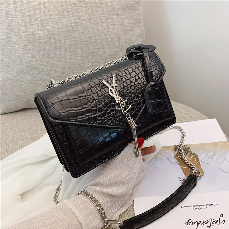 2019 PU Leather Crossbody Bags For Women Small Shoulder Messenger Bag Female Luxury Chain Handbags and Purses tote bag