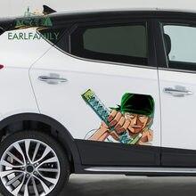 EARLFAMILY – autocollants imperméables pour porte de voiture, étiquette en vinyle, protection anti-rayures, 43cm x 28.4cm, pour une pièce