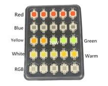 20 шт. светодиодный COB 10 Вт чип интегрированный высокой мощности 10 Вт светодиодный бисер красный синий согласны RGB лампа 900мА 9-12 В 900LM 24 * 48mil Тай...