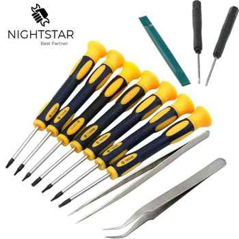 12 in 1 Screwdriver Set Multi-Bit Tools Repair Torx Screw Driver Screwdrivers Kit Home Useful Multi Hand tool 1