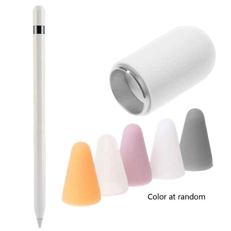 المغناطيسي استبدال غطاء قلم رصاص + 5 القلم غطاء تغليف قلم رصاص ل ipenورق 1st 2st القلم