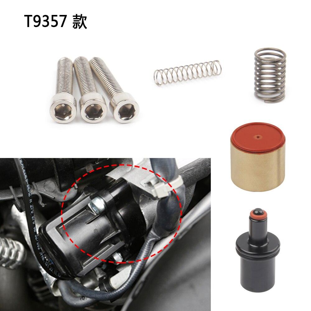 T9351 T9355 T9356 T9357 T9358 DV + la válvula de desviación de rendimiento se adapta a varias aplicaciones BMW