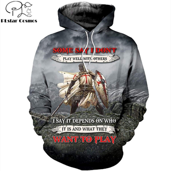 PLstar Cosmos Knights Templar Art Tracksuit 3D full Printed Hoodie/Sweatshirt/Jacket/shirts Men Women HIP HOP casual Harajuku-2 парогенератор tefal pro express gv7850 gv7850e0