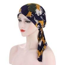Повязок на голову шарф головные уборы для Для женщин мусульманские