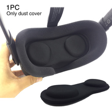 VR Lens Lightweight Durable Anti Scratch Black Protective Cover Full Case Soft Easy Clean Portable Dustproof For Oculus Quest