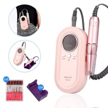 Nail-Drill-Machine Electric Rechargeable Nail-Art-Tools-Set 30000RPM 36W