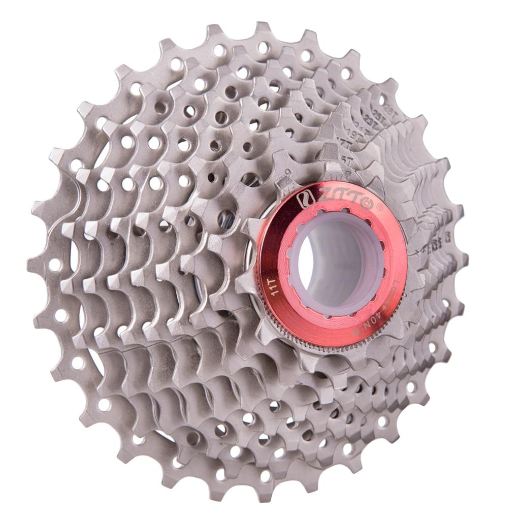 Vélo vélo roue libre 9 vitesses 11-28T vélo Cassette volants pignons pour montagne vtt vélo Cycle 130x79x90mm