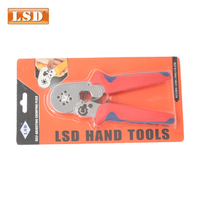 Image 5 - bootlace ferrule crimper 0.25 10mm2 Tubular crimping tool LSC8 6 4 free shipping cord end sleeve crimper crimping tool