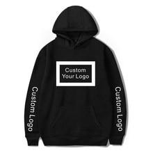 Frete grátis hoodies homem mulher logotipo personalizado diy atacado algodão com capuz unisex logotipo streetwear roupas de queda 2020