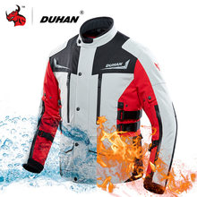 DUHAN Motorcycle Jacket Winter Men Waterproof USB Infrared Heating Jacket Moto Electric Thermal Motorbike Riding Jacket(China)