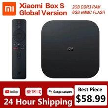 Xiaomi funda para TV Mi S versión Global, reproductor multimedia 4K, Ultra HD, Android TV 9,0, HDR, WiFi 2G y 8G, Google Cast y Netflix