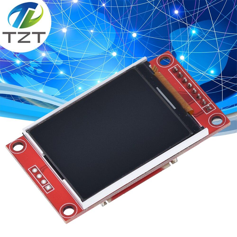Módulo de tela lcd tft tzt, 1.8 polegadas, módulo spi série 51 drivers 4 io driver tft resolução 128*160 para arduino
