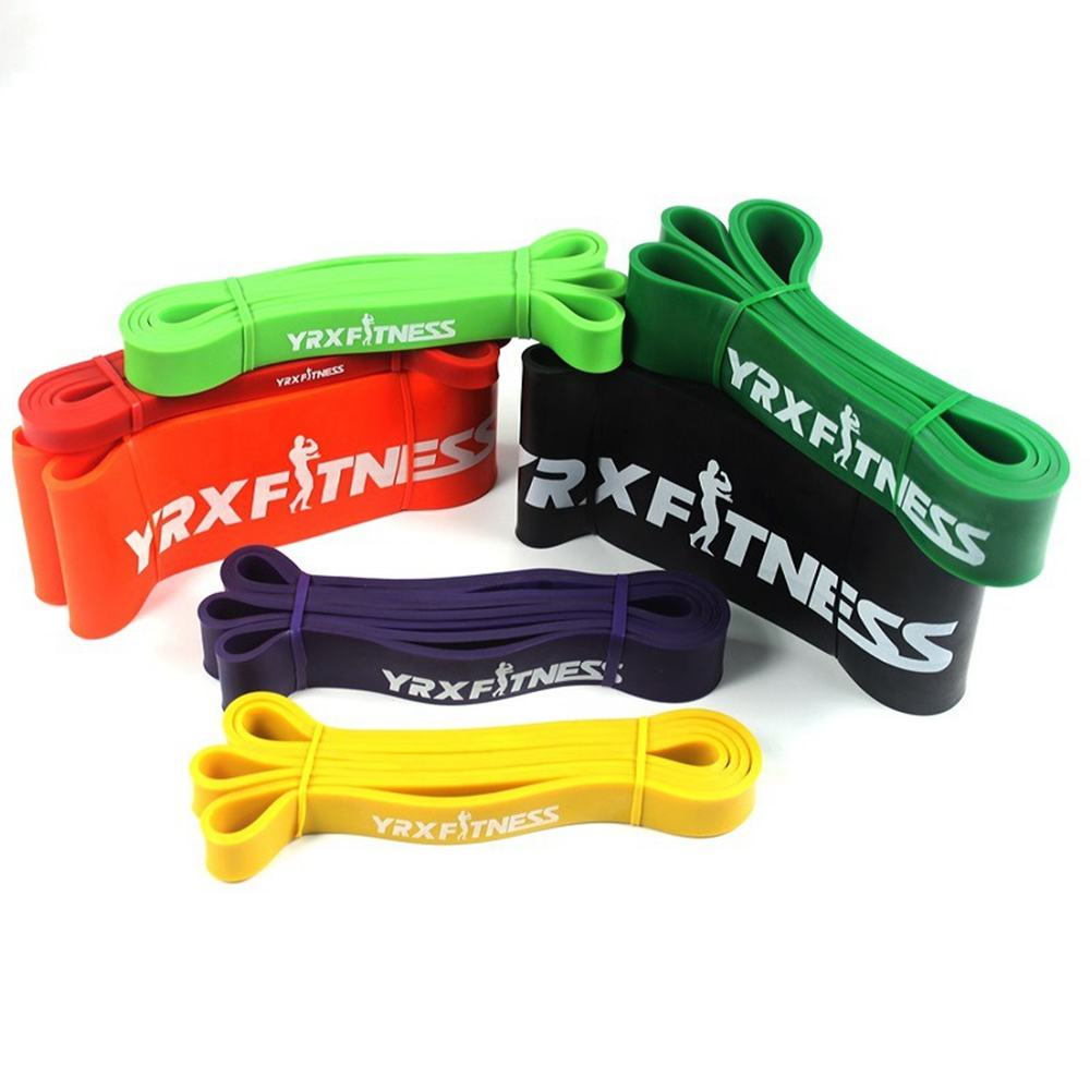Yoga Fitness Rubber Bands Resistance Band Unisex 208cm Workout Elastic Bands Loop Expander For Exercise Sport Training Equipment