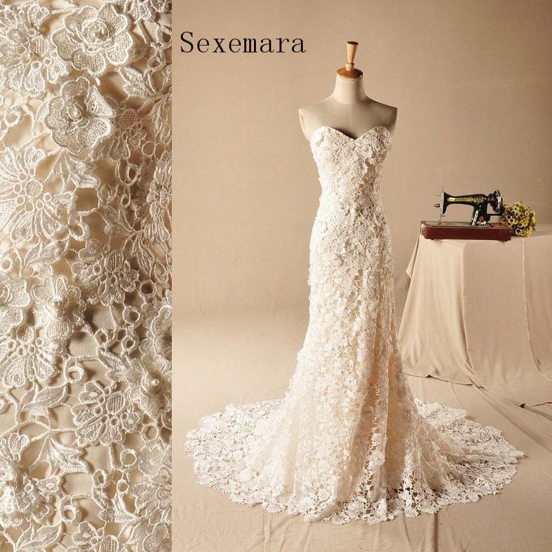 Vintage Lace Sweetheart Sleeveless Mermaid Zipper Back Vestido De Noiva Longo Bridal Gown 2018 Mother Of The Bride Dresses