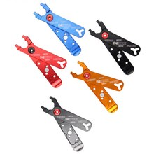 4 In 1 Multifunction Tools Bicycle Master Link Plier Valves Tire Lever Chain Clamp Bike Link Repair Tools 5 colors(China)