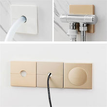 Wall Wire Hole Cover Vents Decoration Protection Duct Cover Snap-on Air Conditioning Port Angle Valve Pipe Plug Kitchen Faucet