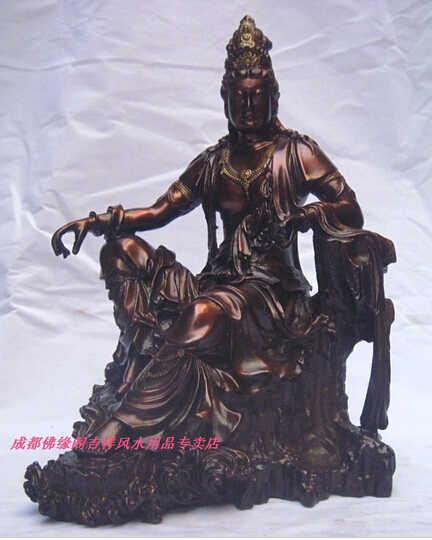 --- 419 + + + Kerajinan Tembaga Perunggu Seni Tembaga Buddha Dekorasi 1 Chiban 3 Besar Bodhisattva
