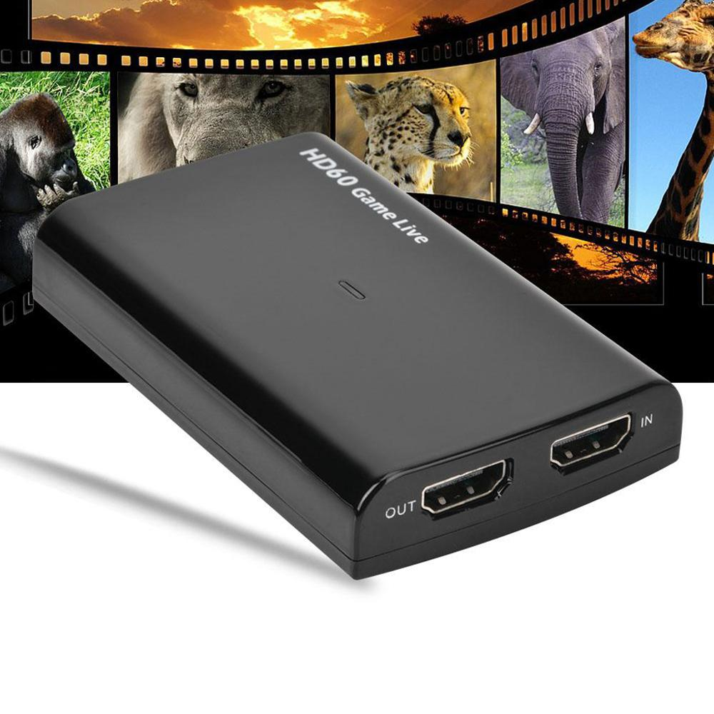 Ezcap266 USB3.0 UVC HDMI Video Capture Card Live Streaming HD 60 Game Live Broadcast With MIC In 4K 30fps HDMI Pass Through