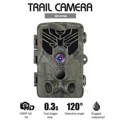 HC-810A Hunting Camera Scouting Trail Cam Wild View 1080P 16MP HD PIR Motion 44pcs Night Vision LEDs Outdoor Wildlife Camcorder