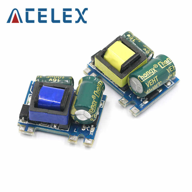 AC-DC 5V 700mA 12V 300mA 3.5W Terisolasi Switch Power Supply Modul Buck Converter Step Down Modul 220V Turn 5V/12V