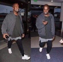 QoolXCWear Spring Autumn Gyms Men Joggers Sweatpants Mens Kanye  Trousers Hip Hop Fashion Pants Sporting Clothing L053