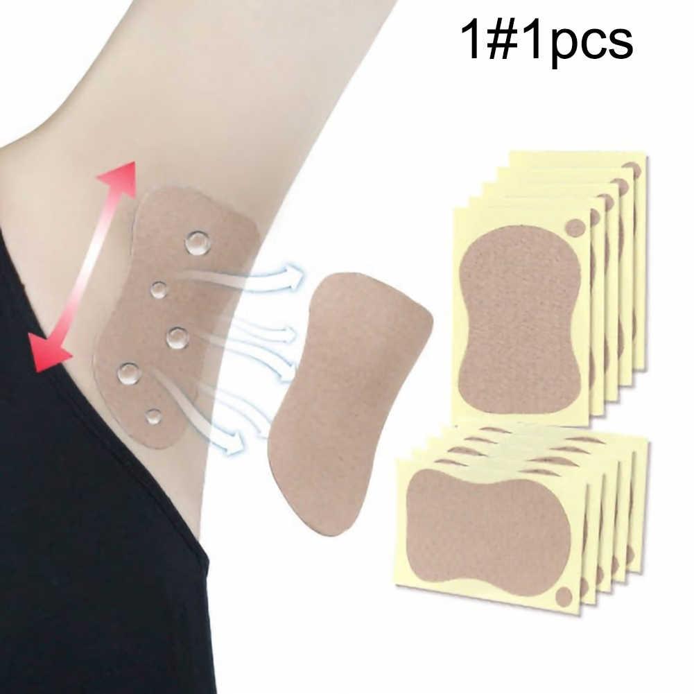 1/3/5 pièces hommes femmes jetables sous les bras bâtons anti-transpirant aisselles coussinets de sueur serviette pied déodorant tampons absorbant la sueur