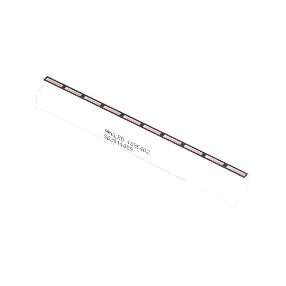 Taidacent 10pcs 10 Segment LED Bar Beam Highlight Yellow Green Single Row LED Bar Graph Array 21Pin SB2011059 Thin LED Light Bar