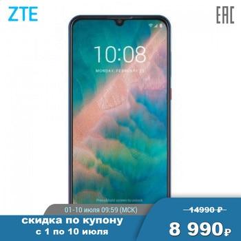 Перейти на Алиэкспресс и купить Смартфон ZTE Blade V10 4+64GB, 6.3'' 19:9 2280x1080, 2.1GHz, 8 Core, up to 256GB flash, 16Mpix+5Mpix/32Mpix