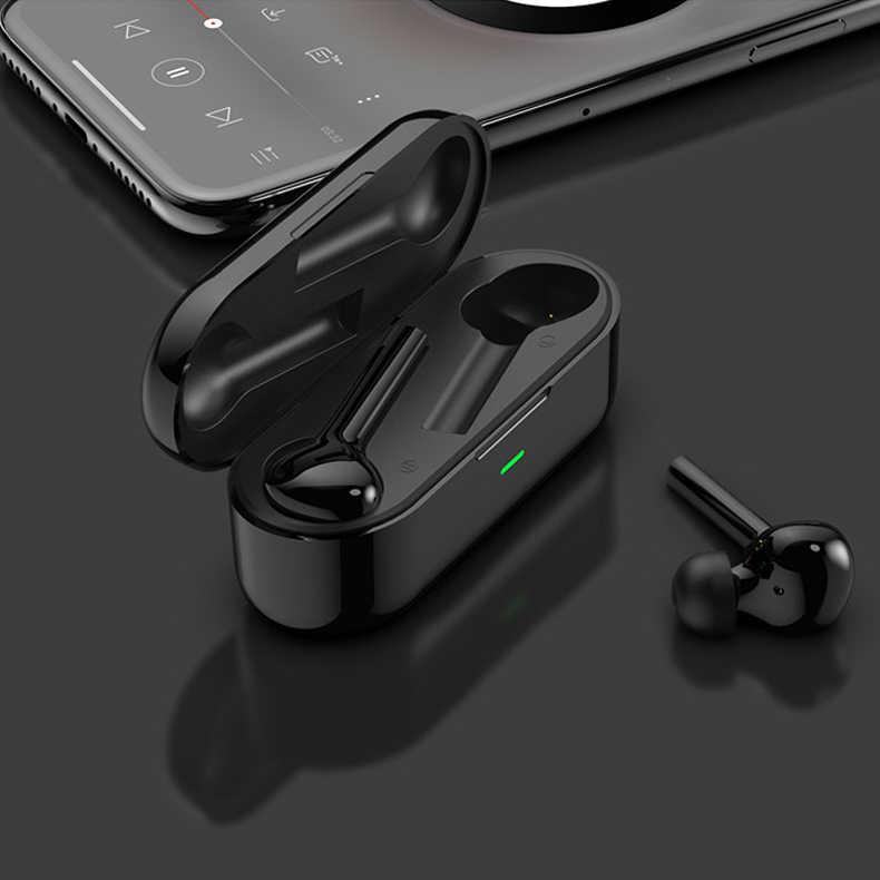 Auriculares intrauriculares inalámbricos 5,0 Bluetooth Vision Touch Control auriculares gran capacidad estuche de carga Auriculares resistentes al agua