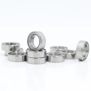 Image 1 - MR106zz Bearing 6*10*3 mm ( 10 PCS ) ABEC 5 Miniature MR106 Z ZZ High Precision MR106Z Ball Bearings