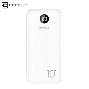 CAFELE 2 стиль ультра тонкий внешний аккумулятор для iPhone samsung Xiaomi huawei универсальное портативное зарядное устройство двойной usb Тип C тройной вых...