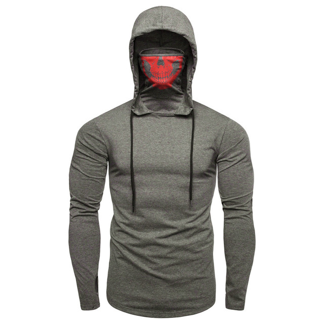 Pullover Hoodie with Mask 6