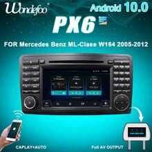PX6 안드로이드 올인원 자동차 지능형 시스템 2 din 라디오 안드로이드 10 메르세데스 ML W164 X164 ML350 ML300 GL500 ML320 ML280 GL350 autoradio