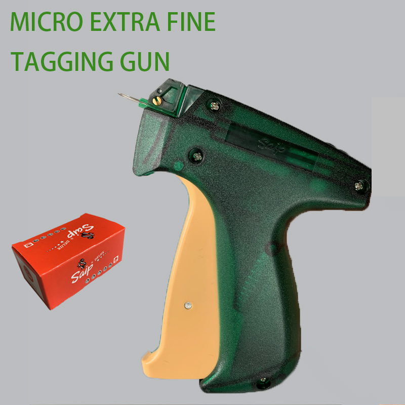 Micro Extra Fine Tagging GunTrademark Tag Gun Art Craft Tooling Clothes Garment Price Label
