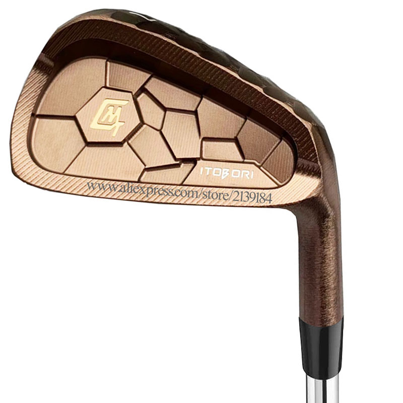 New Golf Clubs MTG Itobori Golf Irons 4-9P Copper Irons Set Clubs Graphite Shaft R Or S Golf Shaft Cooyute Free Shipping
