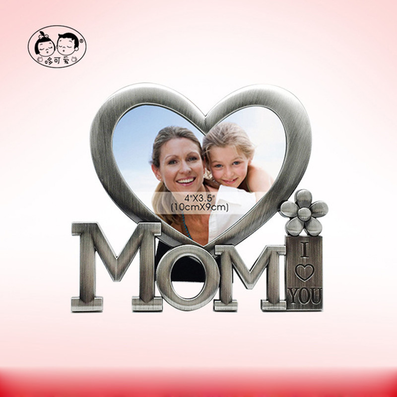 PF11583B Creative personality decoration MAM metal photo frame Cute mother photo frame Mother 39 s Day Birthday gift in Frame from Home amp Garden