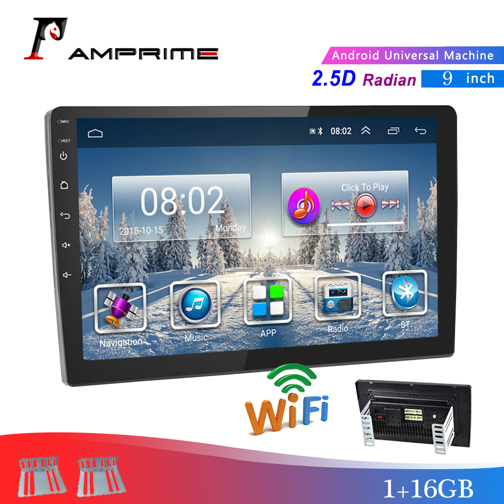 AMPrime 2 din Car Stereo Radio Android 9