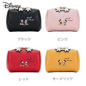 Image 3 - Disney Kosmetische Tasche Nette Mickey Multi funktion Frauen Handtasche Make Up Wasserdichte Reise Kosmetik Tasche Frauen Leder Handtaschen