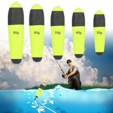 Pike Float Fishing-Accessories Inline-Bobbers Catfish Buoyancy Green Eva 1-Pc Portable