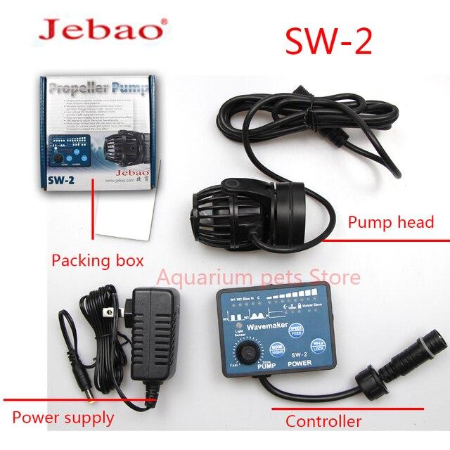 Jebao Water Pump SW-2 SW-4 SW-8 SW-15 Wavemaker Adjustable Flow Aquarium Jebao Wave Maker Fish Tank Aquatic Pet Supplies Home 6