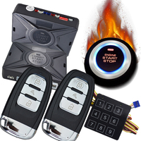 Cardot pke passive keyless entry push button start stop auto alarme